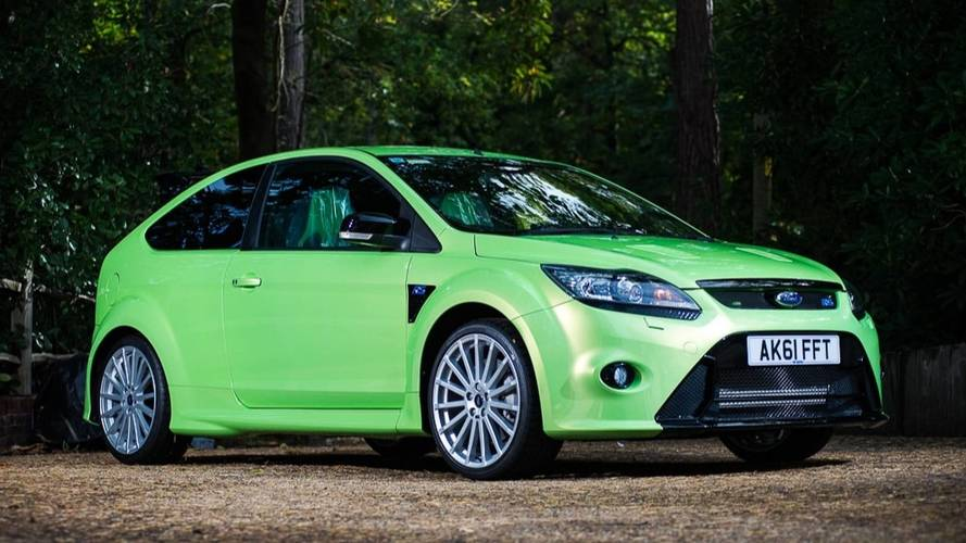 2011 Ford Focus RS Silverstone Auctions