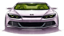 Volkswagen Scirocco design sketches