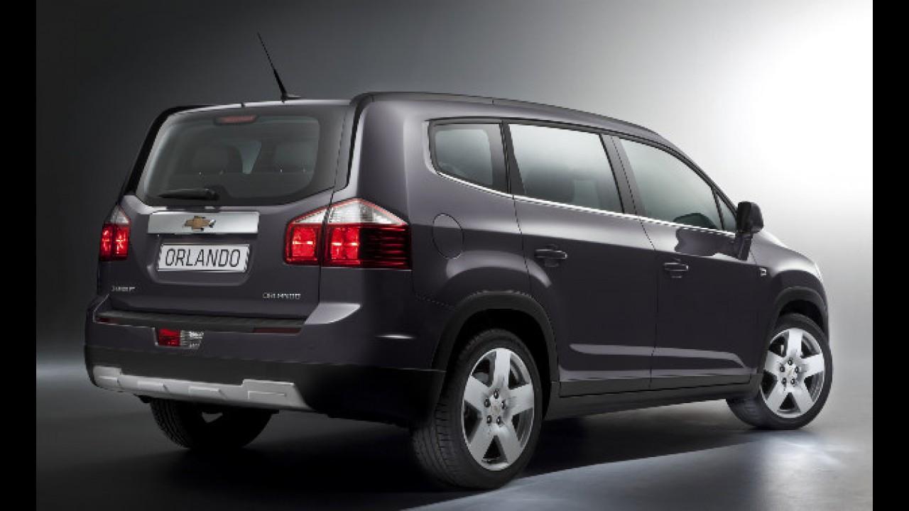 Chevrolet Orlando: Van de 7 lugares faz estréia mundial no Salão de Paris