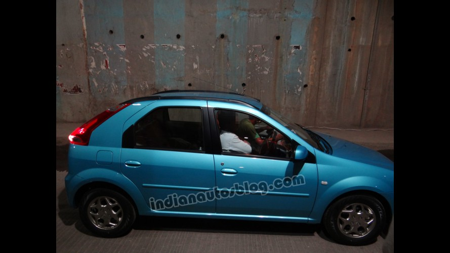 Hatch do Logan, Mahindra Verito Vibe é visto novamente na Índia
