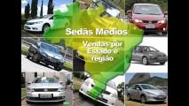 SEDÃS MÉDIOS, 2011: Conheça os campeões por estados e regiões