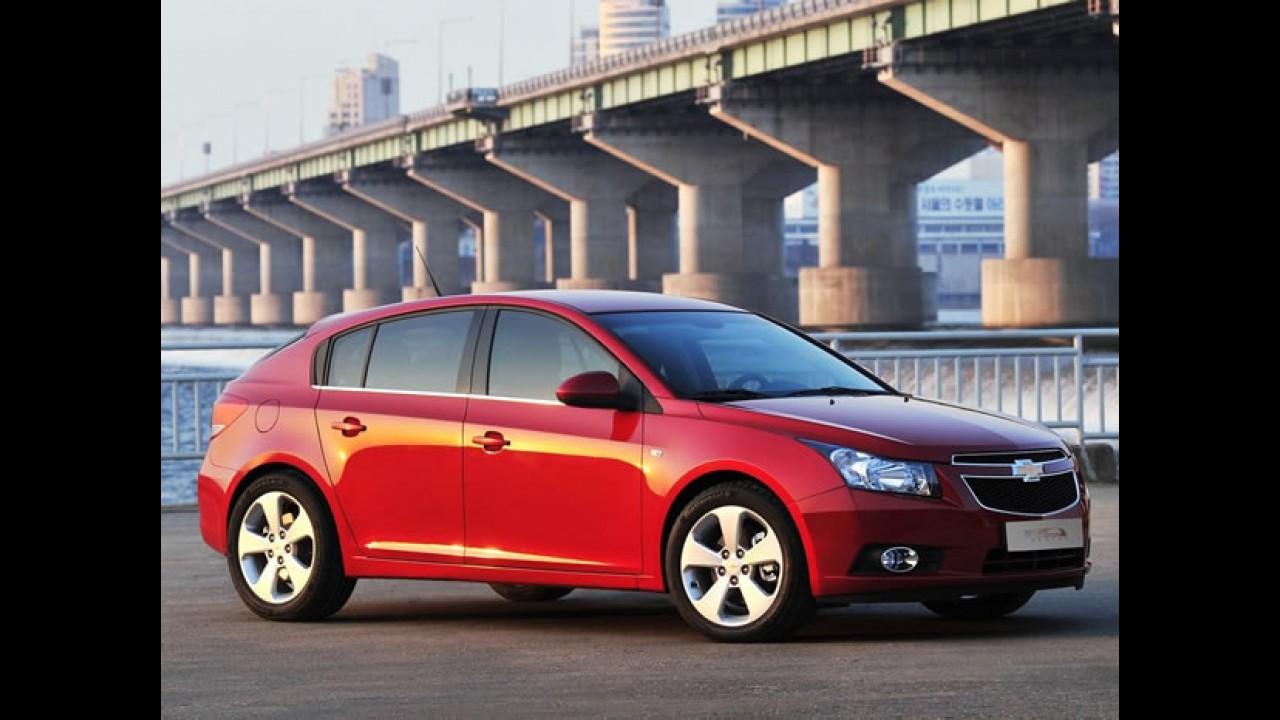 Chevrolet Cruze Hatch deverá chegar oficialmente às lojas em fevereiro