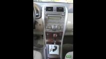Garagem CARPLACE: Detalhes do acabamento interno do Toyota Corolla Altis