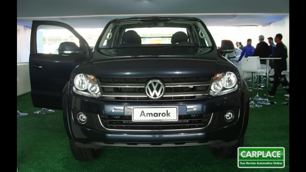Salão de Buenos Aires: Volkswagen apresentará misteriosa Amarok Maxi