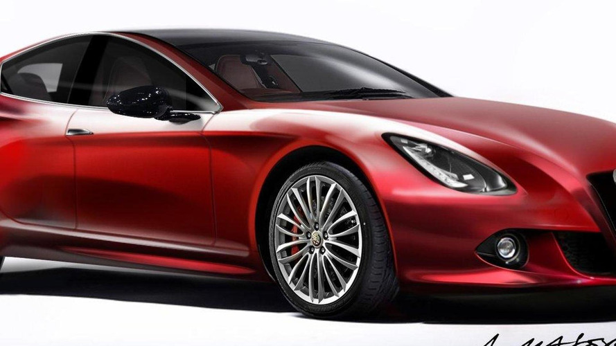 Alfa Romeo flagship would be built by Maserati