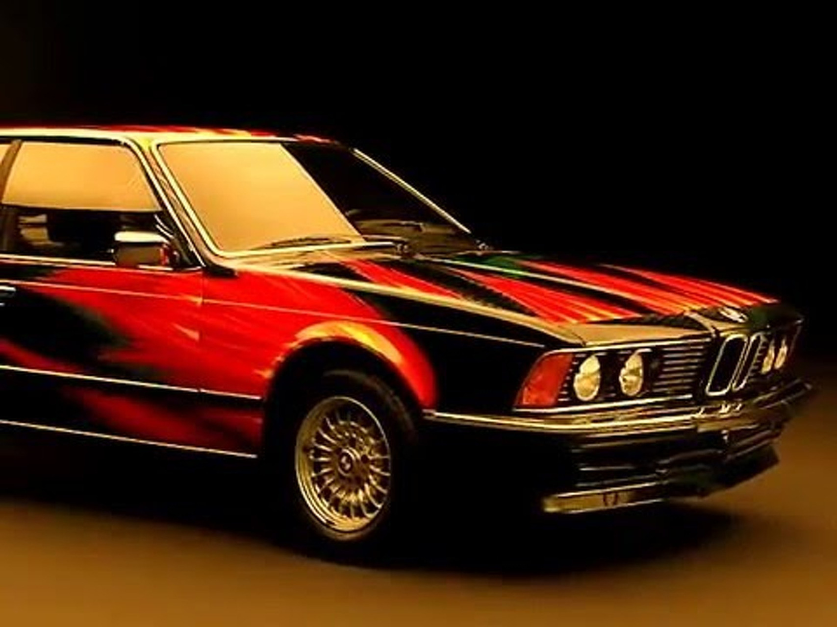 BMW 635 CSi Artcar von Ernst Fuchs, 1982