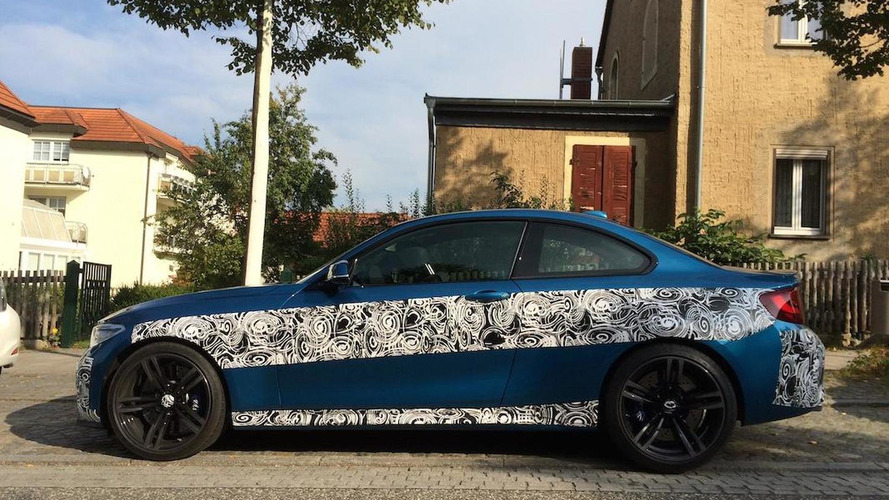 BMW M2 Coupe reconfirmed with 370 PS, could debut on Wednesday