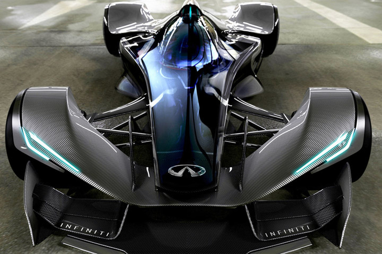 Radical Infiniti SYNAPTIQ Concept Taps Into Your Spine