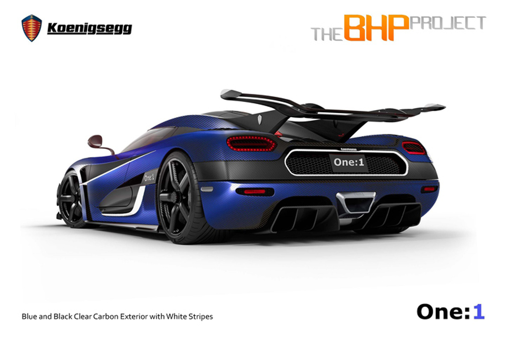 The UK Gets a Dazzling Koenigsegg One:1 Megacar