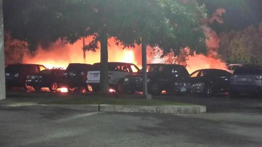 Fire at Jaguar Land Rover dealership in Massachusetts burns 20+ cars