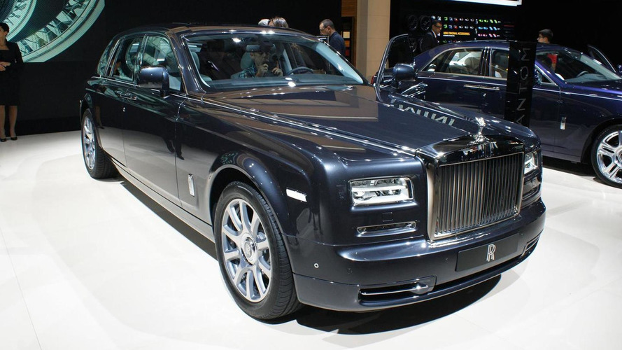 Rolls-Royce Phantom Metropolitan Collection unveiled at Paris Motor Show