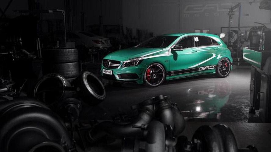 Mercedes-Benz A45 AMG upgraded to 430 PS by GAD Motors