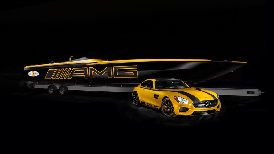 Mercedes & Cigarette Racing unveil their AMG GT S inspired speed boat