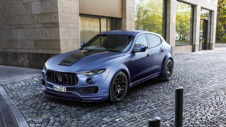 Maserati Levante'ye agresif gövde kiti