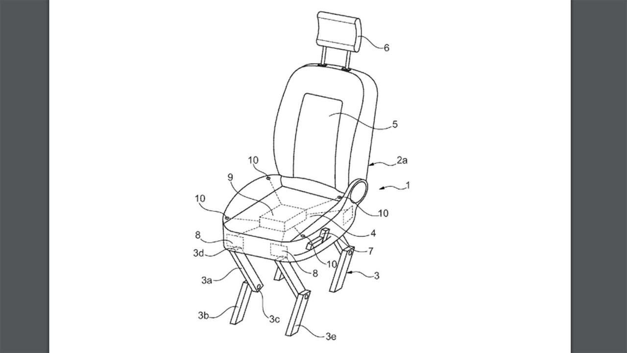 Ford Yürüyen Sandalye Patenti