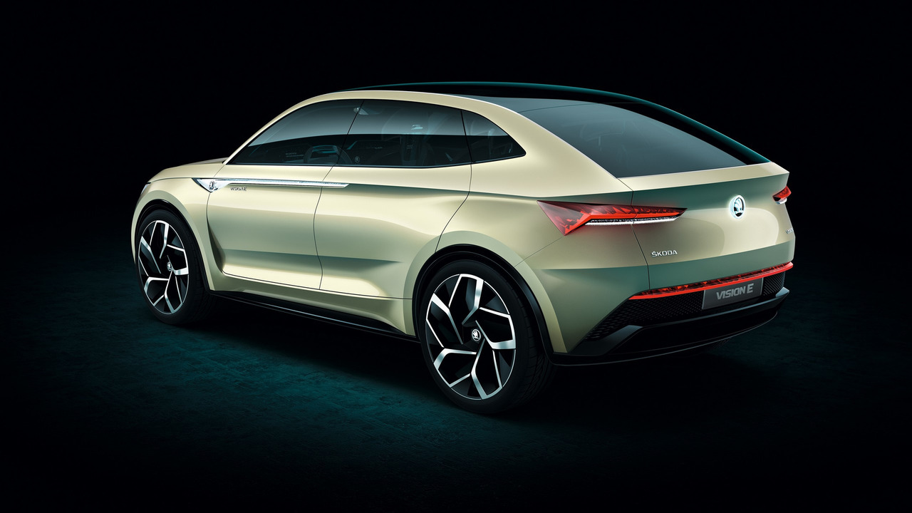 updated skoda vision e concept makes e mobility simply clever. Black Bedroom Furniture Sets. Home Design Ideas