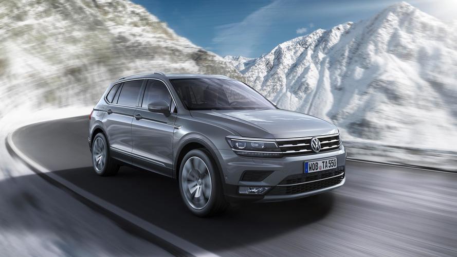 VW Tiguan Allspace Cenevre lansmanı