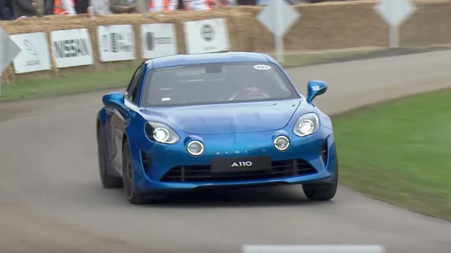 Alpine A110 Goodwood'da görücüye çıktı