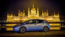 Nissan Leaf Taxi Budapest