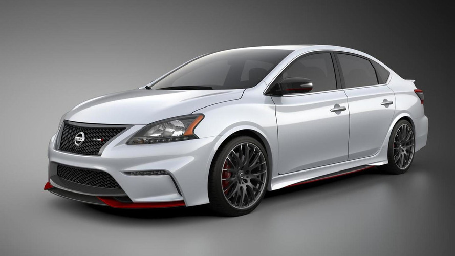 Nissan Sentra NISMO Concept shown in LA., hints at performance expansion