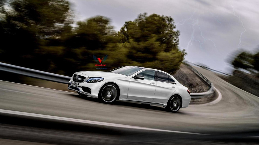 2015 Mercedes-Benz C63 AMG envisioned