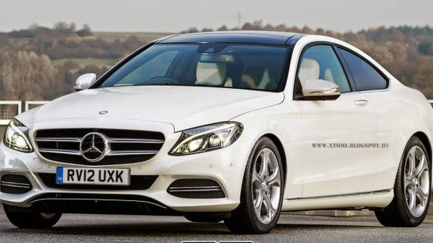 2014 Mercedes-Benz C-Class rendered as a coupe and estate