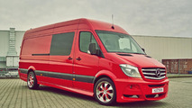 Facelifted Mercedes-Benz Sprinter modified by Hartmann