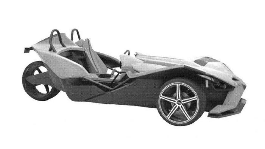 Polaris Slingshot patent renderings leaked
