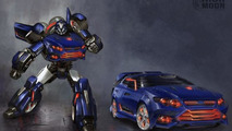 The Falcatron is a Ford Falcon-based Transformer
