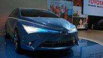 Toyota Yundong Shuangqing hybrid concept live in Beijing 23.04.2012
