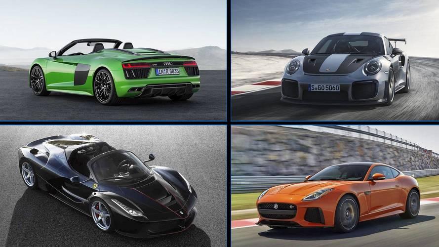 Los coches más potentes a la venta de 11 marcas Premium