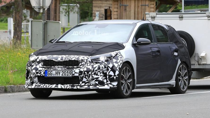 2019 Kia Ceed GT Drops Some Camo In New Spy Shots