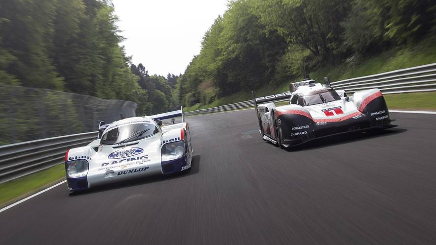Porsche 956 C, 919 Hybrid Evo Driven Together At The Nurburgring