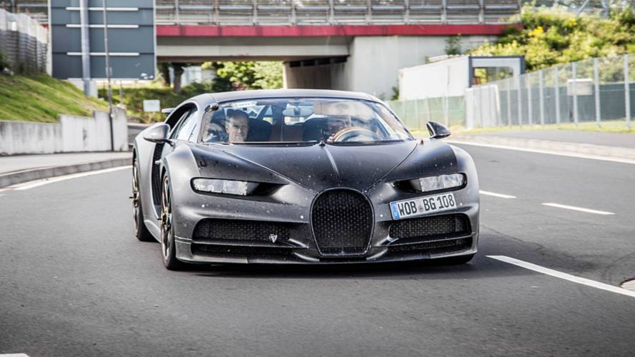 Bugatti Chiron Test Car Spotted At Nürburgring Again