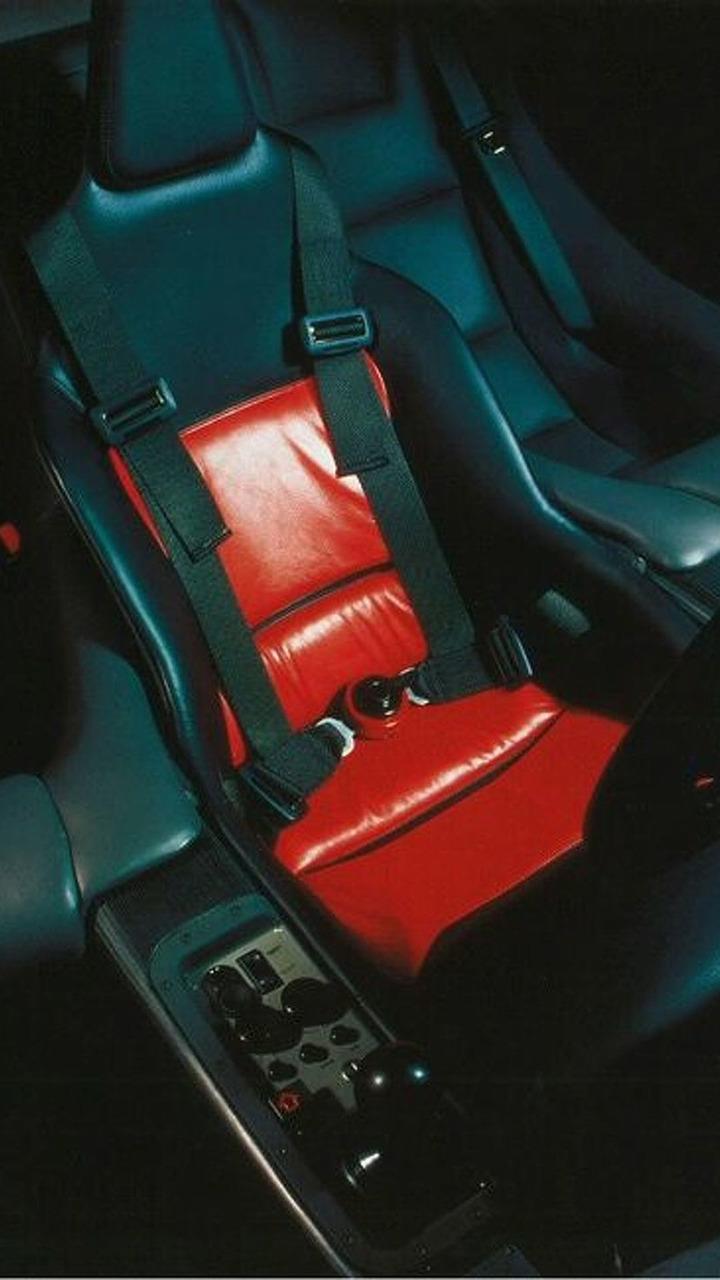 McLaren F1 interior