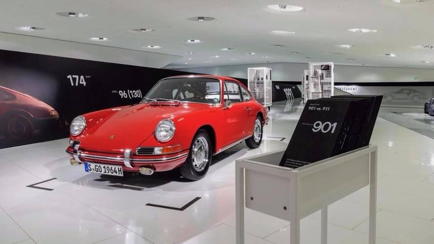 Porsche fait rentrer sa plus vieille 911 au Musée