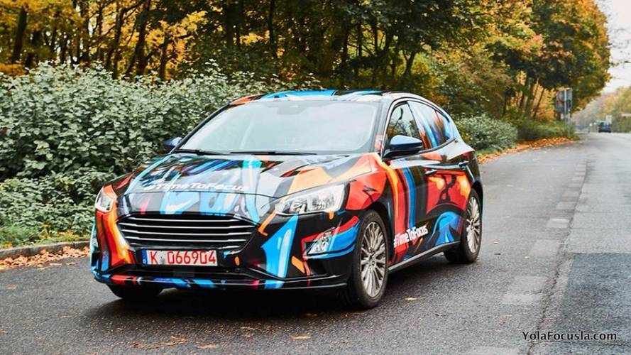 Ford Focus 2019 Flagra