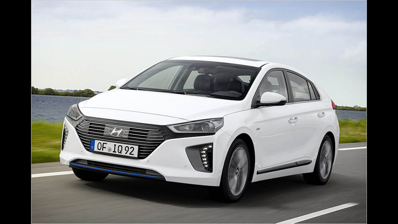 Women's World Green Car of the Year 2017: Hyundai Ioniq