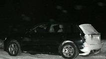 Audi Q5 caught cold testing