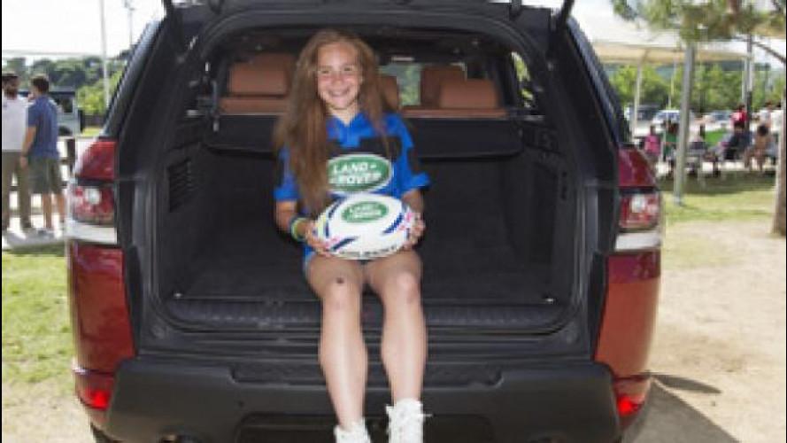 Land Rover, la Coppa del Mondo di Rugby ha le sue mascotte
