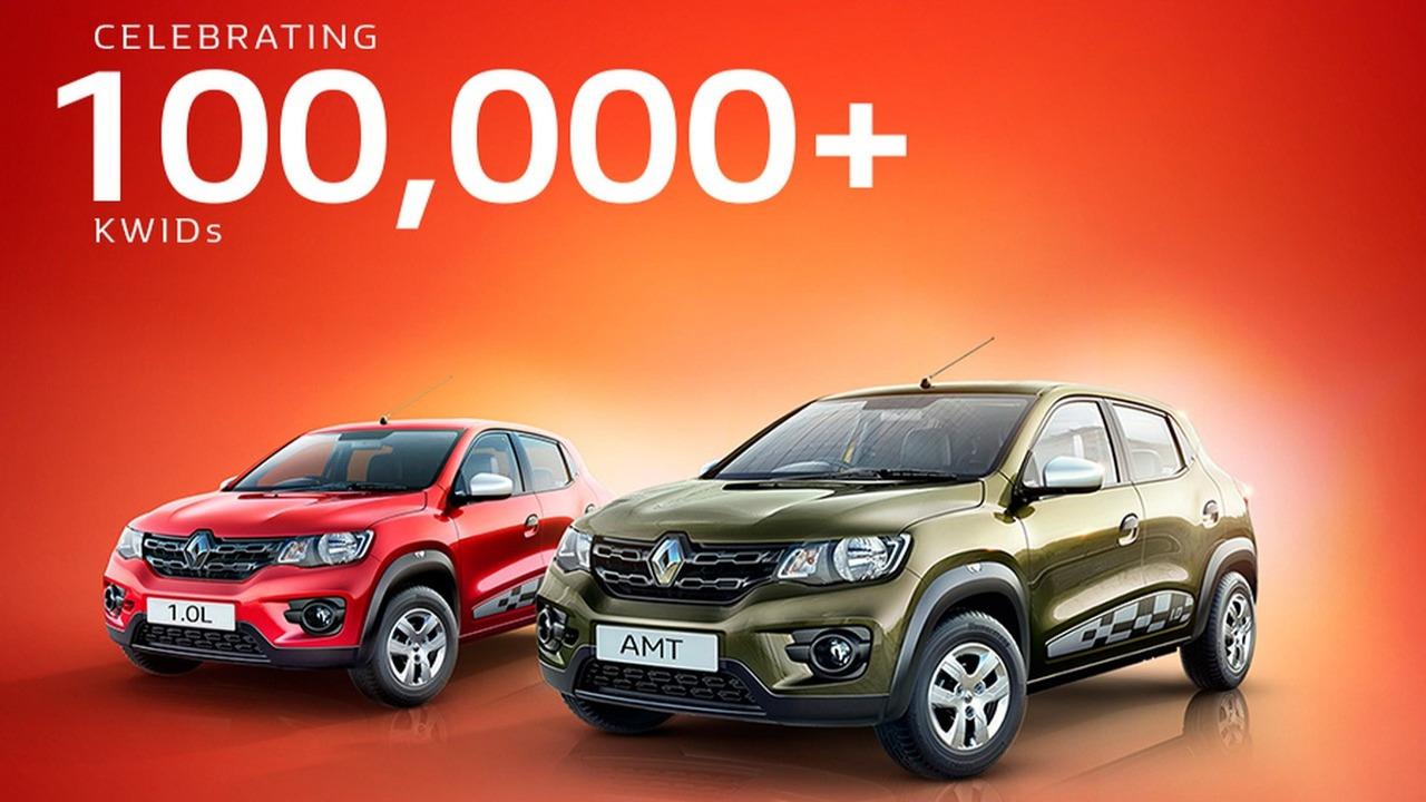 Renault Kwid 100 mil