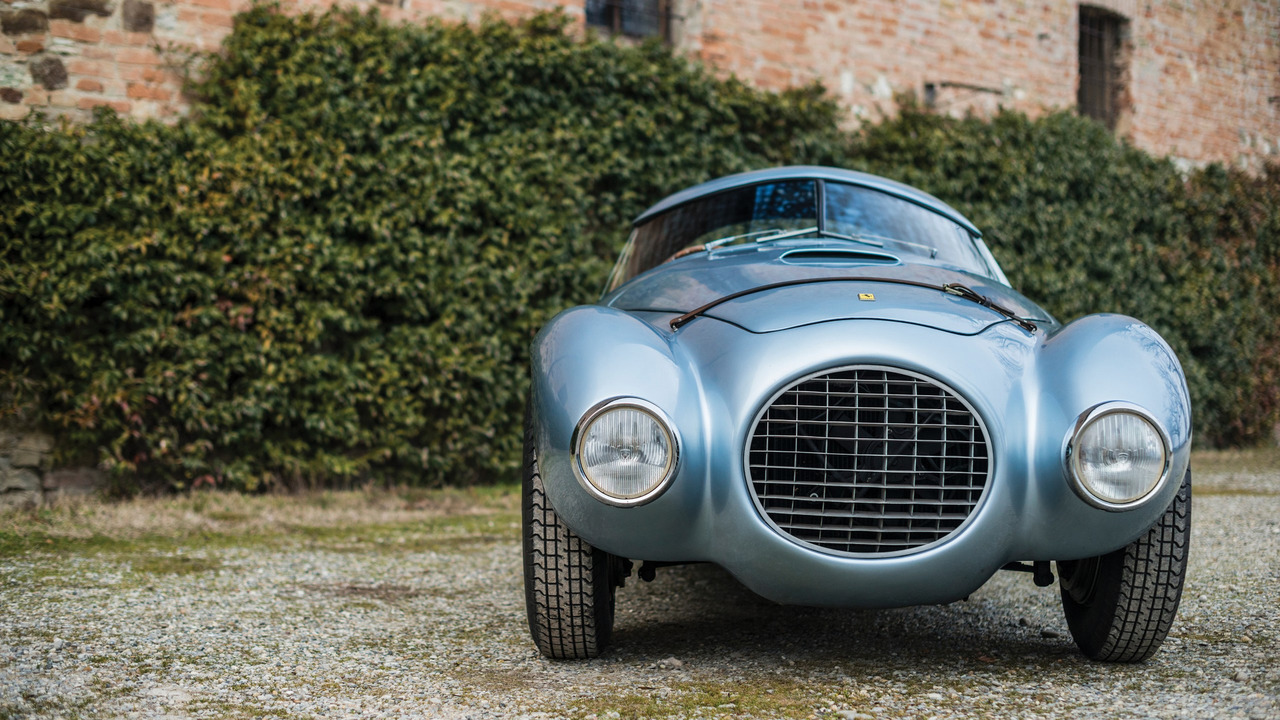 Unusual And Unique Egg Shaped Ferrari Heading To Auction