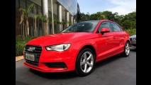 Audi A3 Sedan nacional tem preço inicial de R$ 99.990