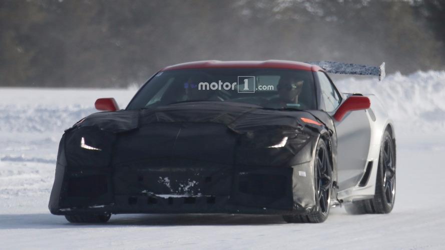 2018 Chevrolet Corvette ZR1 casus fotoğrafları