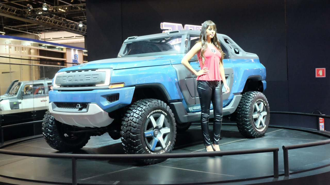 Brazil 39 s troller t4 xtreme concept envisions possible for Ford motor company truck division