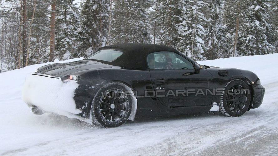 2012 Porsche Boxster Latest Winter Spy Photos