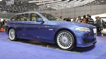 Alpina B5 BITURBO Touring live in Geneva - 01.03.2011
