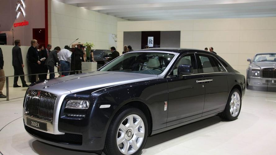 Rolls Royce 200EX Concept Live From Geneva Show Floor