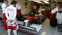 Jarno Trulli, European Grand Prix Valencia, Spain 22.08.2009