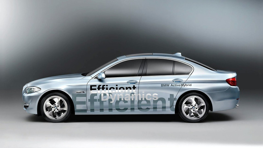 BMW Concept 5 Series ActiveHybrid Revealed Ahead of Geneva Public Debut [Video]